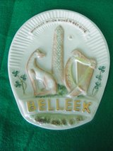 1979 Belleek Collecters Society Special Edition of Belleek Trade Mark Plaque in Schaumburg, Illinois