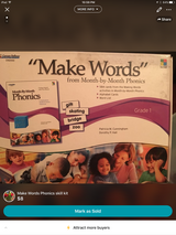 Make Words phonics kit in Fort Campbell, Kentucky