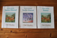 OAK MEADOW Teacher's Guides and 5th Grade Science Text in Stuttgart, GE