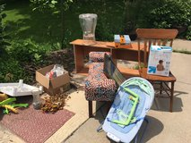 Furniture and more at curb in Bolingbrook, Illinois