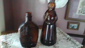 Vintage 1970's Aunt  Jemima  & Log Cabin Syrup Bottles in Westmont, Illinois