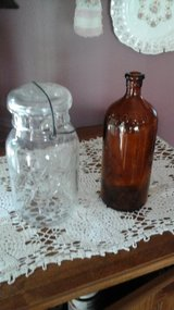 Antique  Vintage Ball Mason Jar w/Clorox  Bleach Bottle in Chicago, Illinois