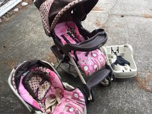 Graco brand stroller, car seat combo in Houston, Texas