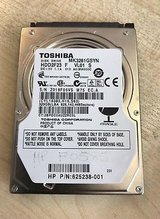 320GB TOSHIBA 2.5 Inch SATA Laptop Internal Hard drive. in Ramstein, Germany