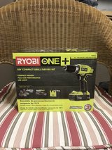 BRAND NEW RYOBI 18V DRILL/DRIVER KIT in Schaumburg, Illinois