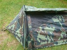camo tunnel tent in Lakenheath, UK