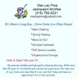 Residential and Commercial Cleaning in Fort Polk, Louisiana