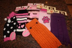 Lot of 6 Doggie Sweaters - Size XS in Kingwood, Texas