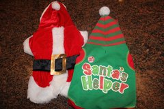 Doggie Christmas Outfits - Size Small - Brand New in Kingwood, Texas