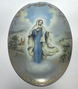 Bradford Exchange collectors plate - Our Lady of Medjugorje in Kingwood, Texas