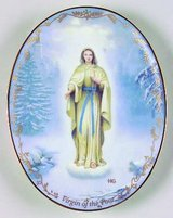 Visions of our Lady Collectors Plate - Our Lady of Lourdes in Kingwood, Texas