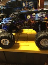 """Traxxas """"Son-Uva Digger"""" 1/10th scale in Fort Riley, Kansas"""