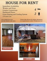 Single Family House for Rent near Walter Reed- Bethesda in Fort Meade, Maryland