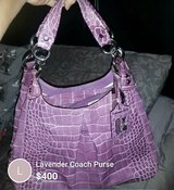 Lavender Coach Purse in Yucca Valley, California