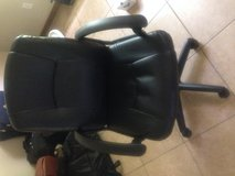 Desk chair in Fort Polk, Louisiana