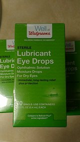 Eye Drop Lubricant like Refresh Plus 70 single use containers in Fort Lewis, Washington