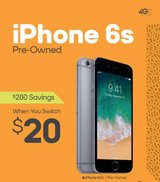 iPhone 6 s pre owned in Pearland, Texas