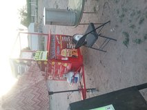 Food cart grill in Fort Bliss, Texas