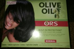 Hair Relaxer - Olive Oil in Camp Lejeune, North Carolina