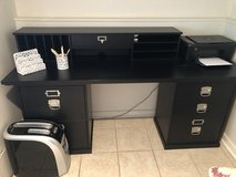 Pottery Barn desk and organizer system in Plainfield, Illinois