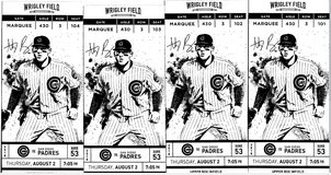 CUBS TICKETS AND PARKING FOR SALE FOR Thursday, August 2, 2018 7:05 PM in Oswego, Illinois