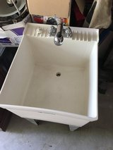 Utility Sink with Faucet/Sprayer in Kingwood, Texas
