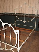ANTIQUE FANCY IRON BED FULL SIZE in Fort Riley, Kansas