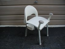Handicap Bath Tub Shower Chair (Adjustable w/Padded Arms) in Cherry Point, North Carolina