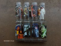 TOTAL OF EIGHT STAR WARS DRINKING GLASSES in Bartlett, Illinois