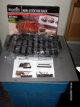 NEW CHAR-BROIL UPRIGHT RIB RACK in Yorkville, Illinois