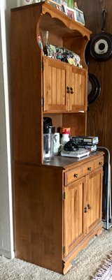 Hutch – China cabinet – storage cabinet in Oceanside, California