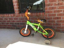 Child Bike w/ training wheels in Leesville, Louisiana