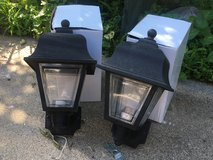 Pair of Outdoor Coach Lights in Naperville, Illinois