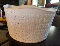 White Bike Basket in Bolingbrook, Illinois
