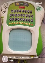 Leapfrog Letters and Numbers Tablet in 29 Palms, California
