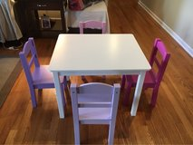 Wood Table & 4 Chairs in Naperville, Illinois
