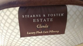 $3000 king size 2012 sterns and foster mattress with 25 year warrantyfrom Ashley furniture in Oswego, Illinois