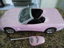 Barbie Corvette Remote Controlled Car in Spring, Texas