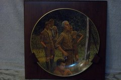 Norman Rockwell Scouting plate in Oswego, Illinois