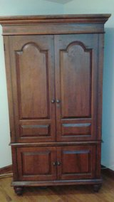 TV or Clothes Solid Wood Armoire in Schaumburg, Illinois