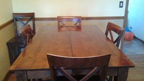 Pub Height Dining Table with 6 Chairs in Elgin, Illinois