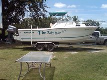 2000 SeaPro 23.5 WA with 225HP saltwater series Yamaha engine with full transom in Cherry Point, North Carolina