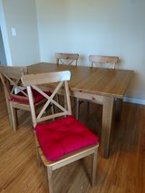 Dining table (extension piece and 6 chairs) in Eglin AFB, Florida