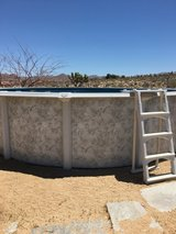 Swimming pool in Yucca Valley, California