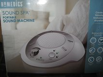 Homedics Sound Spa Portable sound machine in Alamogordo, New Mexico
