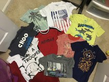 Summer boys shirts size 4-5yrs in St. Charles, Illinois