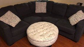Sectional and ottoman in Travis AFB, California