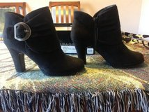Rampage Jiselle Black 7.5 Faux Suede Ankle Boots in Manhattan, Kansas