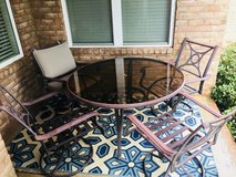 Price Reduced! Coleman Patio Dining Set in Warner Robins, Georgia