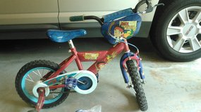 "boys Jake Pirate 14"" bicycle bike with helmet in Kingwood, Texas"